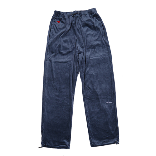 VELOUR SWEATPANTS (ASPALT)
